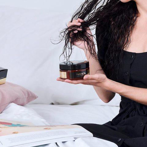 MENESTYSTUOTE! Keratiinipohjainen hiustenhoitotuote: Nanoil Keratin Hair Maskin arvostelu